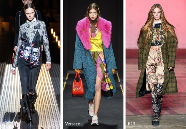 2019 AW Trends: Plaids & Knits Styling