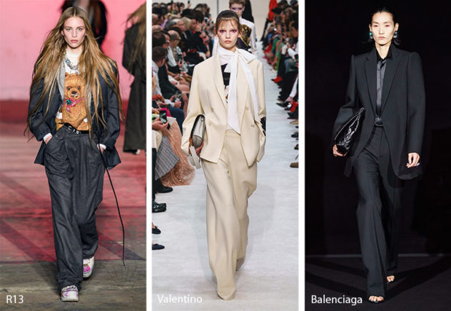 2019 AW Trends: Slouchy Suits