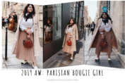 AW 2019 Trends: Parisian Bougie Girl