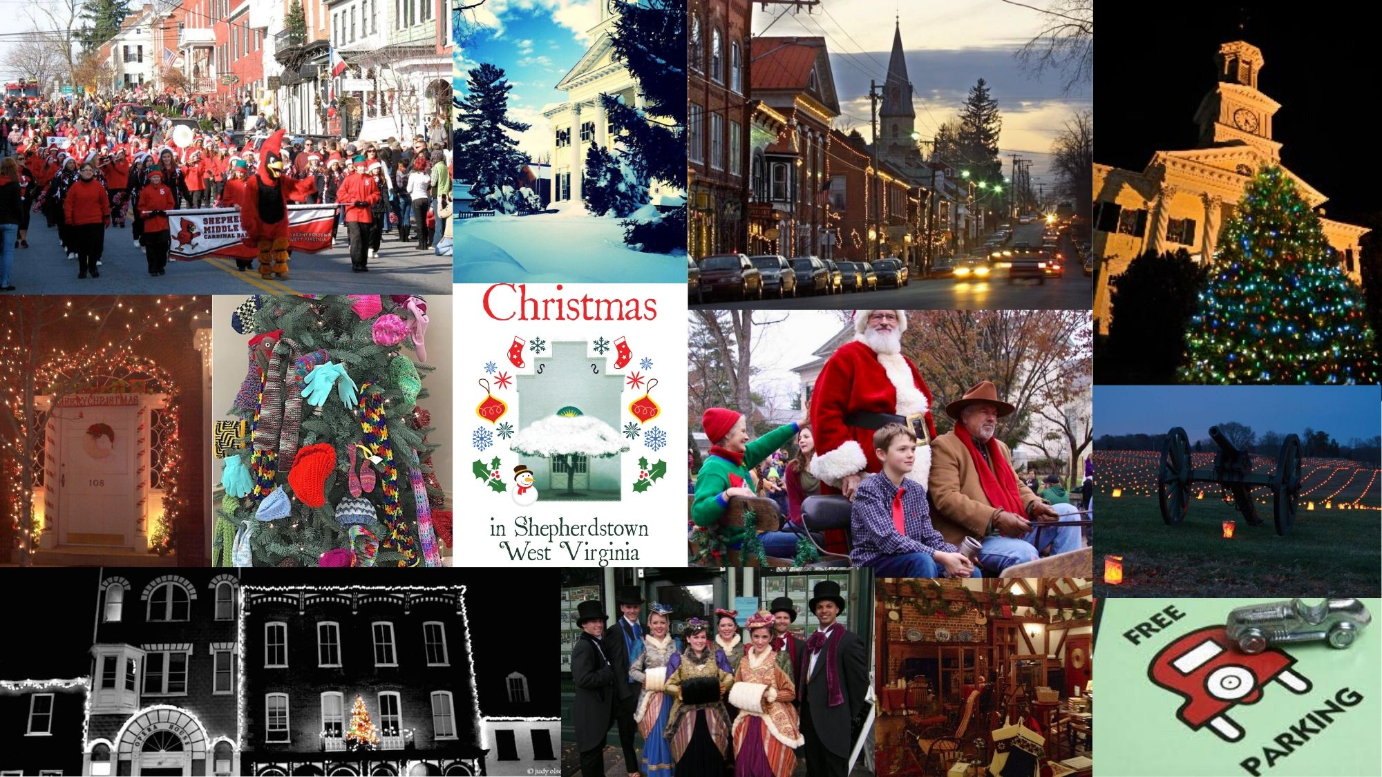 Visit Shepherdstown for the Holidays
