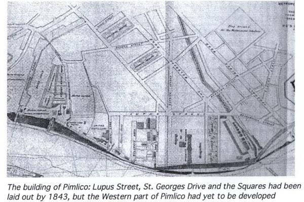 Lupas Street and Pimlico