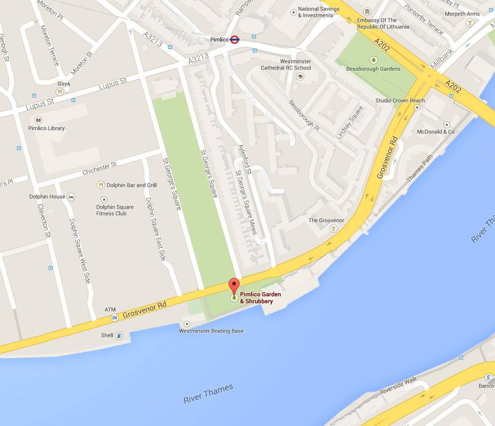 Pimlico Garden - Google Maps