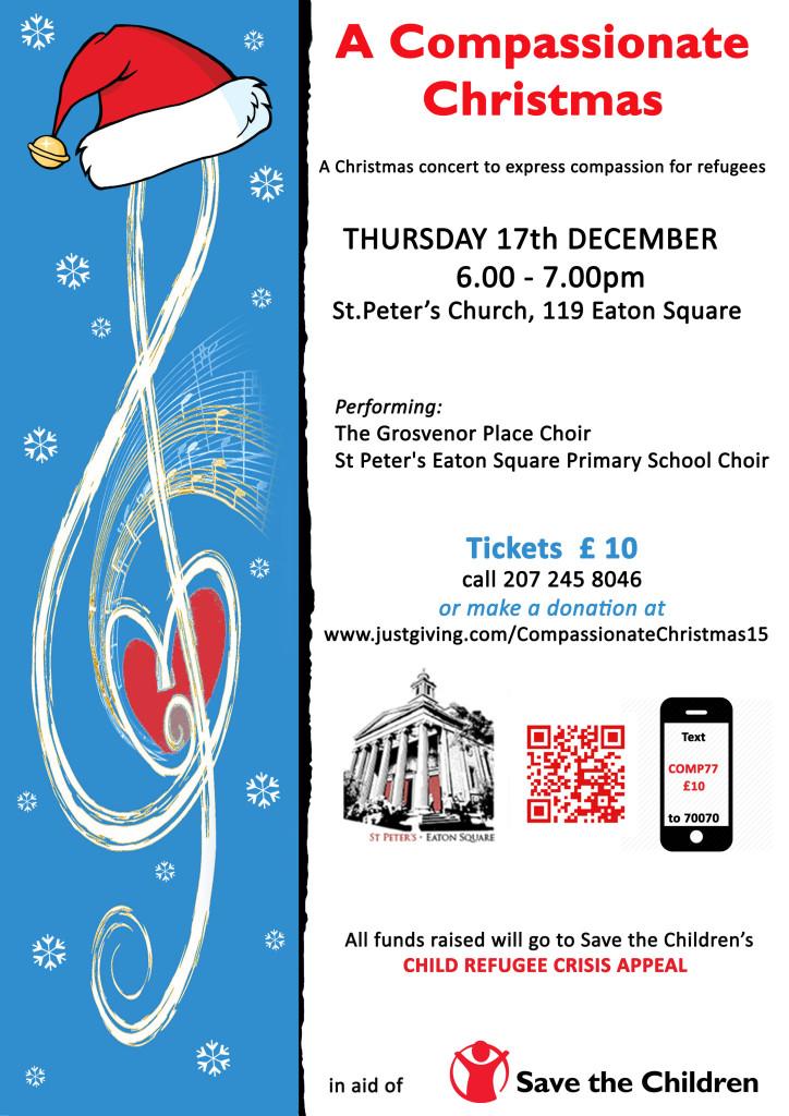 Grosvenor Place Choir 2015