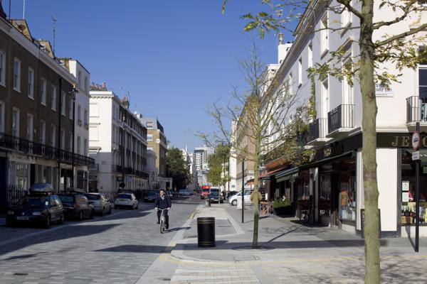 Elizabeth Street, London (Source: Stone Federation GB)