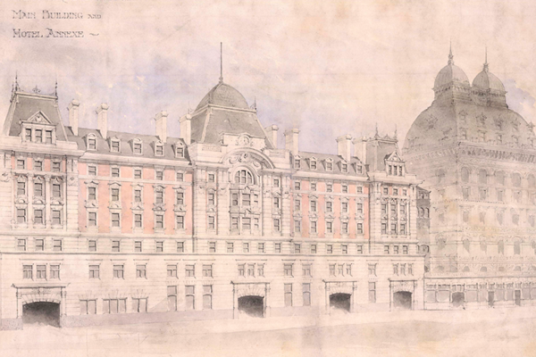 The history of London Victoria station
