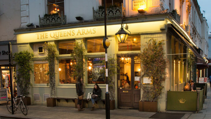 Queens Arms – your local gastropub in Pimlico