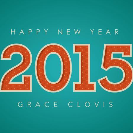 Happy new year from Grace Clovis