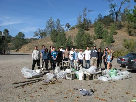 ECOSLO Removes over 740 Pounds of Trash from Local Lakes