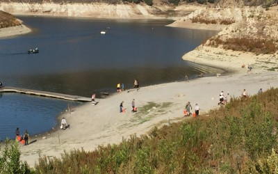 Cleanups at Lopez Lake collect over 1500lbs