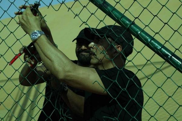 Akshay Kumar wearing the Breitling Avenger II