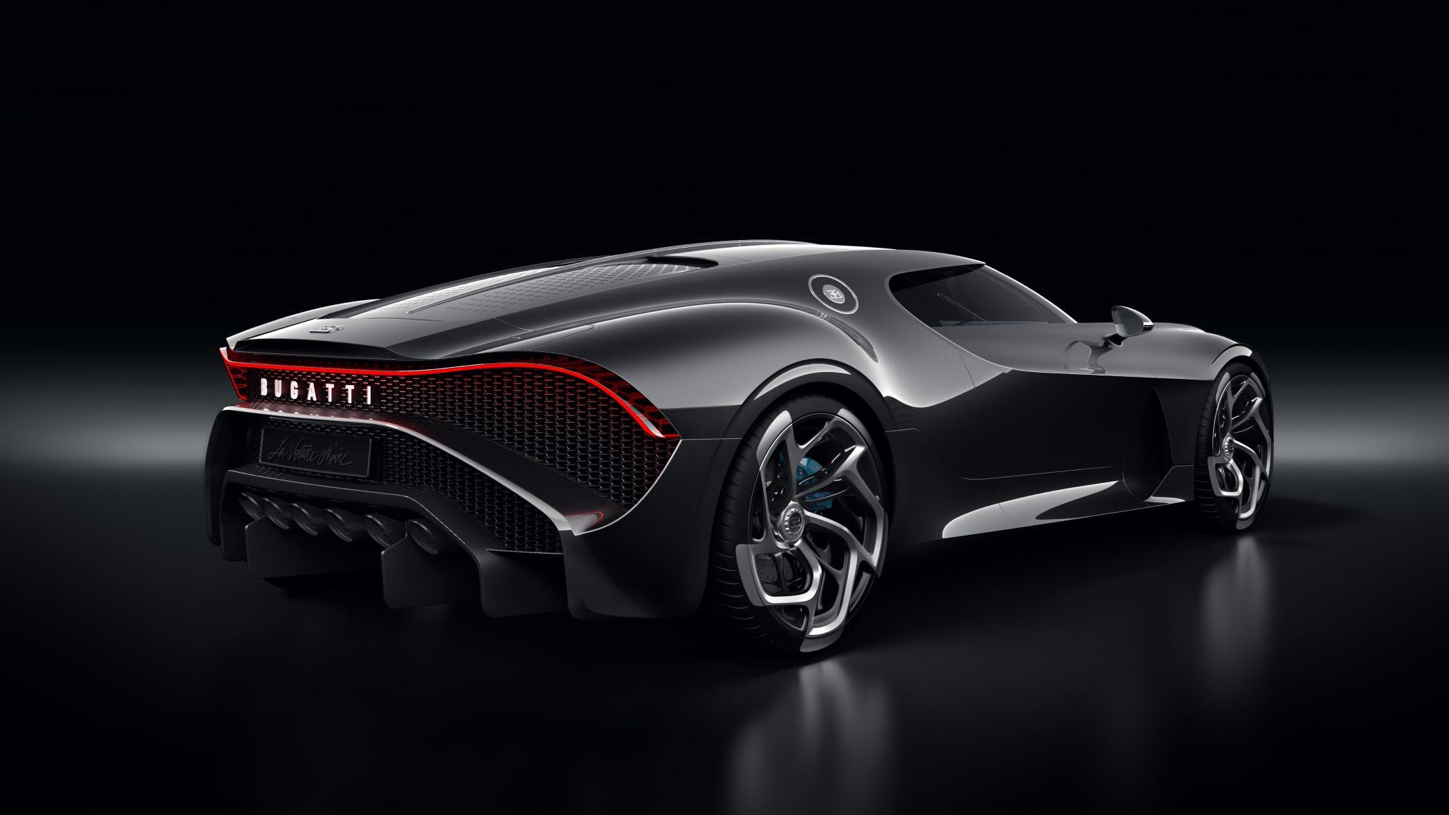 'La Voiture Noire' by Bugatti