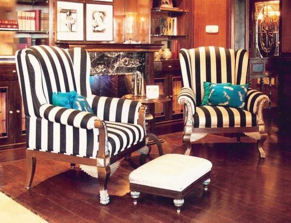 Lounge Chair: Wing Chair, Manjeet Bullar
