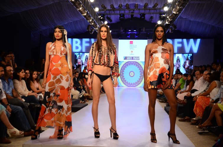 Designer Shriti Pratap's designs at Gionee India Beach Week