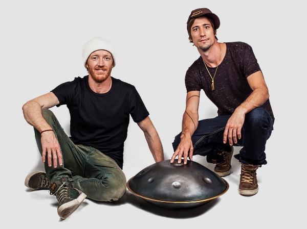 Danny Cudd and Markus Offbeat of Hang Massive