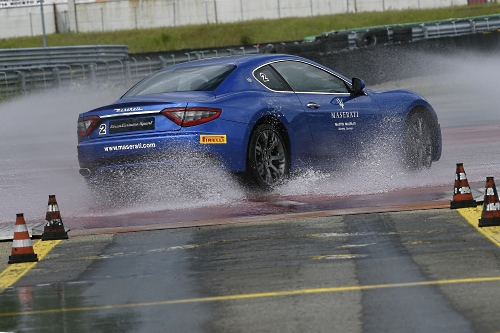 The Master Maserati courses are held in the Autodromo in Varano de' Melegari, Italy.