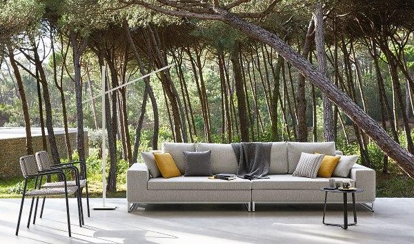 Manutti Zendo large outdoor sofa by Go Modern Furniture