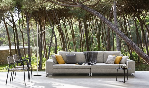 Manutti Zendo large outdoor sofa by Go Modern Furniture