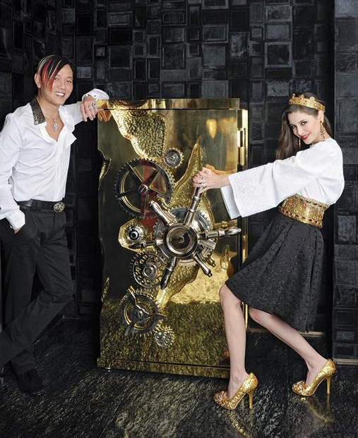 The Millionaire Safe: A hyper luxury safe