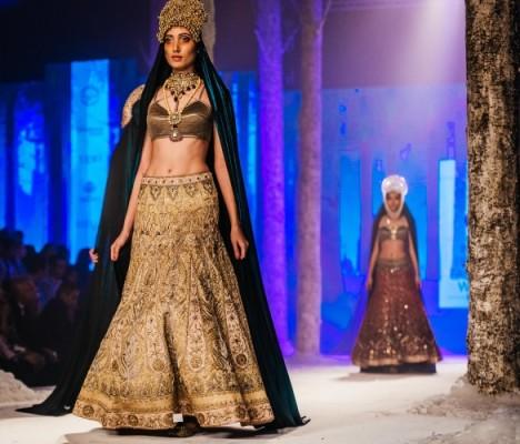 The Bolshoi Bride by JJ Valaya at the BMW India Bridal Fashion Week