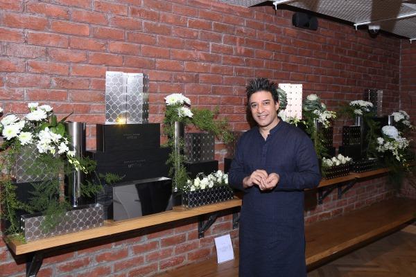 Suneet Verma at the new Arttd'inox store
