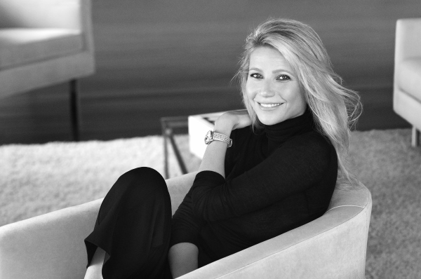 global charity ambassador of Swiss watchmaker Frederique Constant, Gwyneth Paltrow