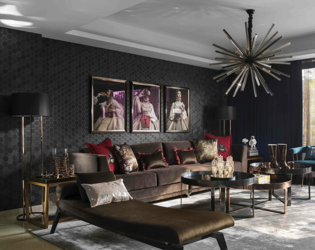 An eclectic apartment by Sanjyt Syngh