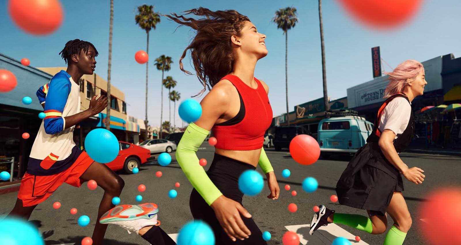 Nike Joyride: Nike-only, proprietary cushioning system