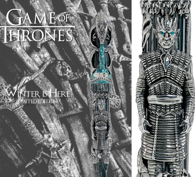 Game of Thrones Memorabilia: Winter is Here collection by Montegrappa