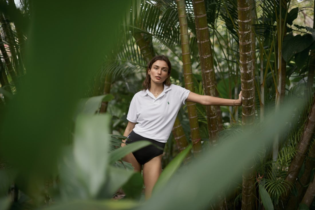 Sustainable Fashion - The Earth Polo is made from 12 plastic bottles