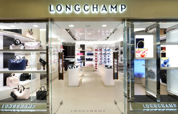 Longchamp store at DLF Emporio, New Delhi.