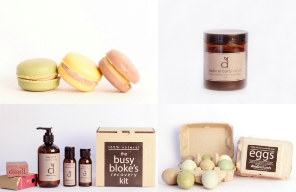 Organic cosmetics from Dindi Naturals