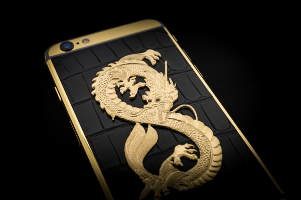 Luxurious iPhone 6: The Dragon Edition
