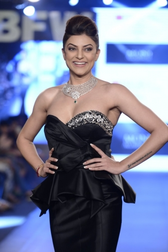 Sushmita Sen at India Beach Fashion Week