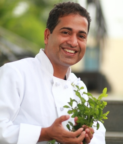 Chef Michael Swamy of Hopping Chef