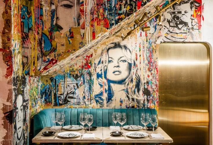 Mr. Brainwash at Bibo