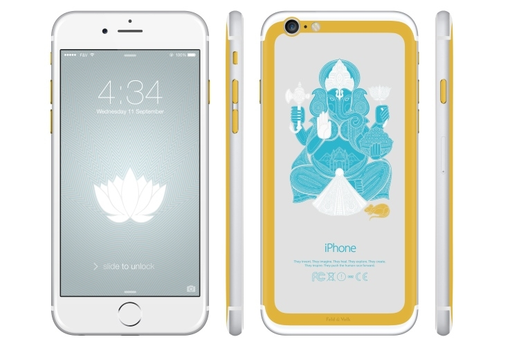 iPhone 6 Ganesha by Feld and Volk