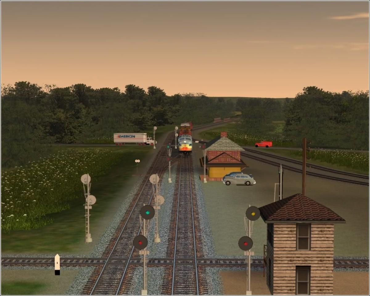 NYO&W Trainsim
