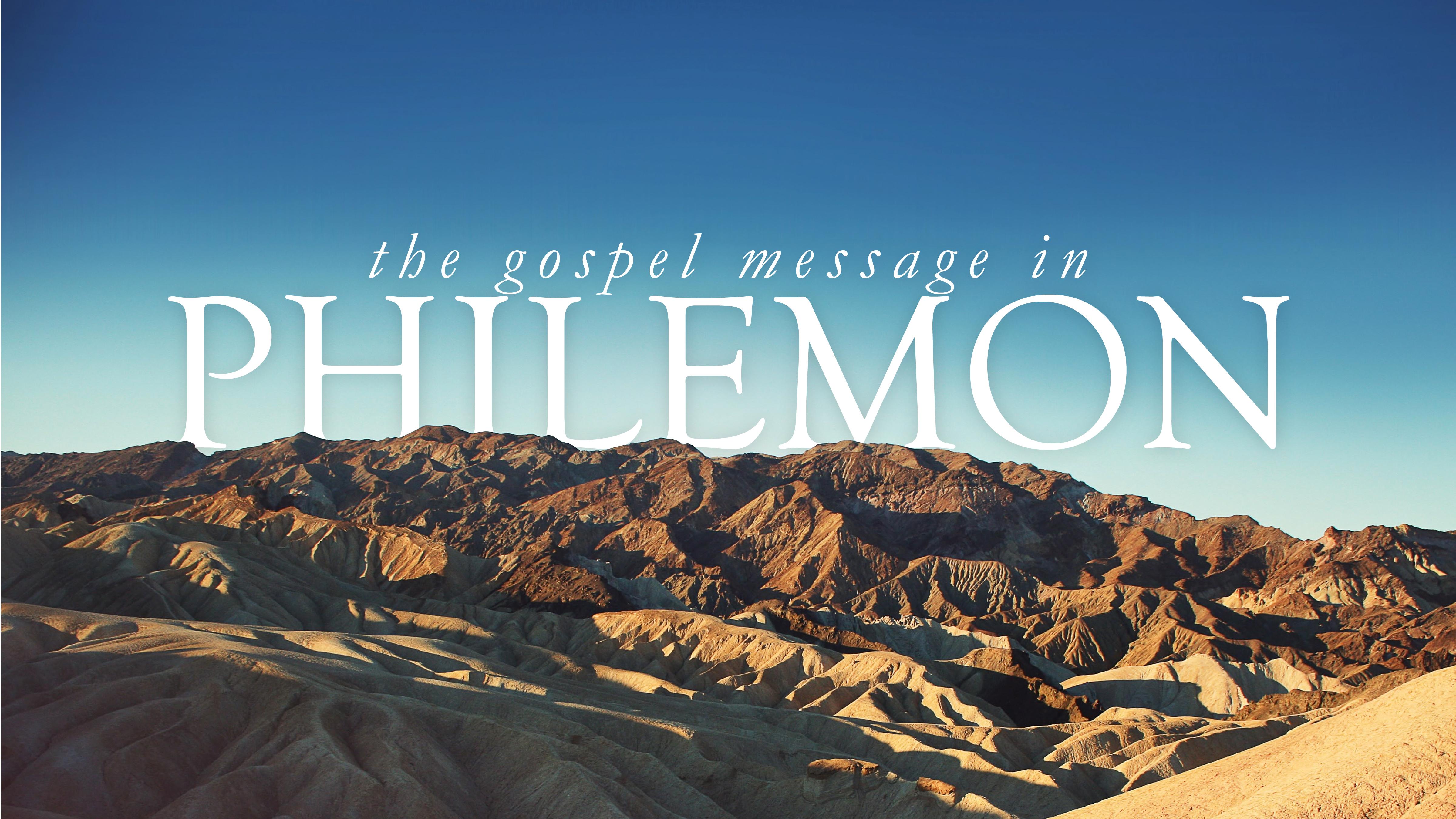 Philemon 8-22