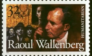 The U.S. Postal Service issued April 24 a stamp commemoration World War II hero Raoul Wallenberg. The stamp was unveiled at the U.S. Holocaust Memorial Museum in honor of the Swedish diplomat who helped save tens of thousands of Jews from Nazi death camps, primarily by issuing safe passes and creating safe houses. USA STAMP