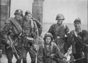 Soldiers of the Polish Home Army during the Warsaw Uprising