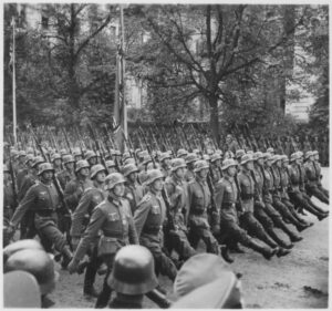 German troops invade Poland 1939