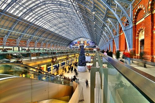 Kings Cross and St. Pancras Railway Station