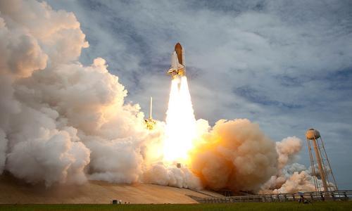 titanium in space shuttle