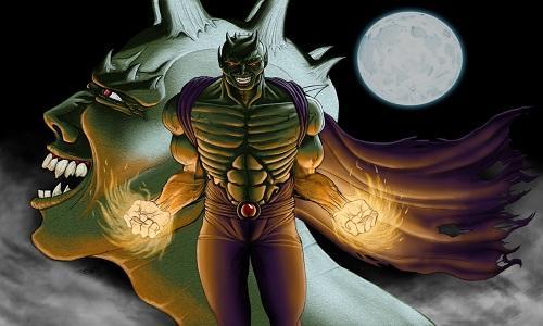 Comic Book Villain Green Goblin