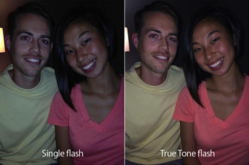 iPhone 5S dual-LED flash camera