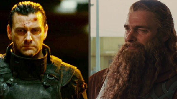 Ray Stevenson as The Punisher and Volstagg
