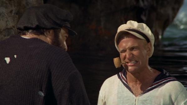 Robin Williams as Popeye