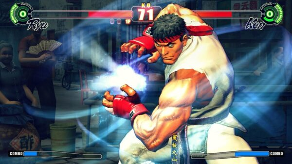 Ultra Street Fighter 4 2015 Game