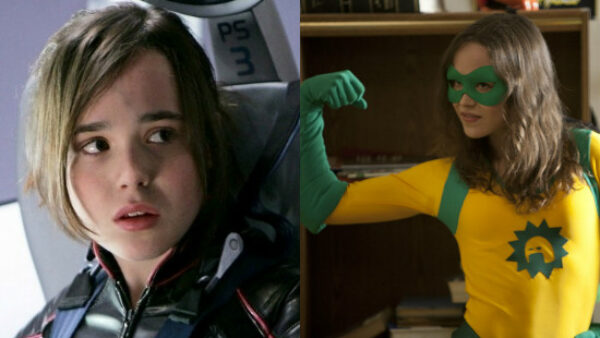 Ellen Page as Kitty Pryde and Boltie