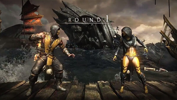 Mortal Kombat X ps4 2015
